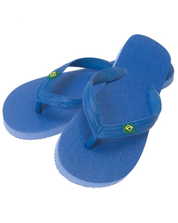 Flip Flops with Solid Strap