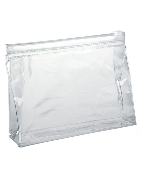 Clear Slide Zipper PVC Taller Bag