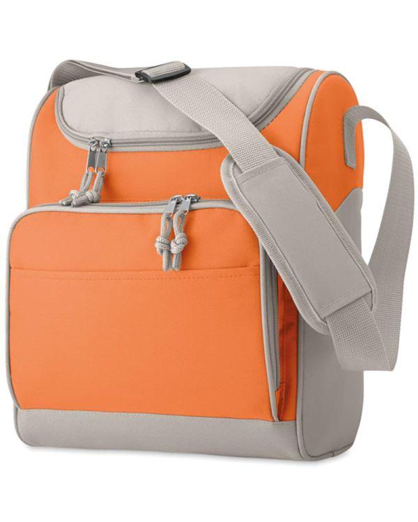 Zipper Cooler Bag With Front Pocket