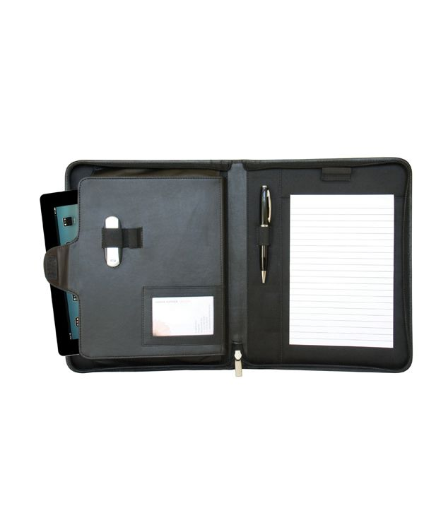 Sandringham Nappa Leather Zipped Tablet Holder
