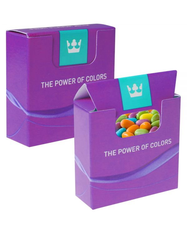 Mini Box With Mixed Fruit Sweets