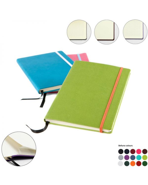 Vibrance A5 Casebound Notebook Plus