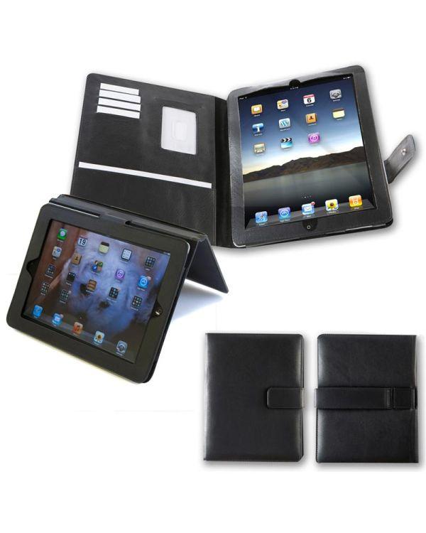 Executive Nappa Leather iPad Organiser Case