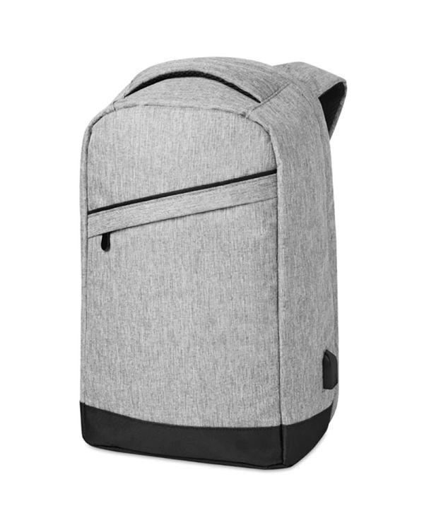 Berlin 2 Tone Backpack Incl USB Plug