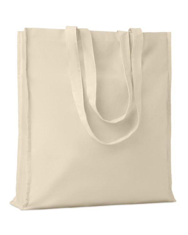 Portobello Cotton Shopping Bag With Gussets