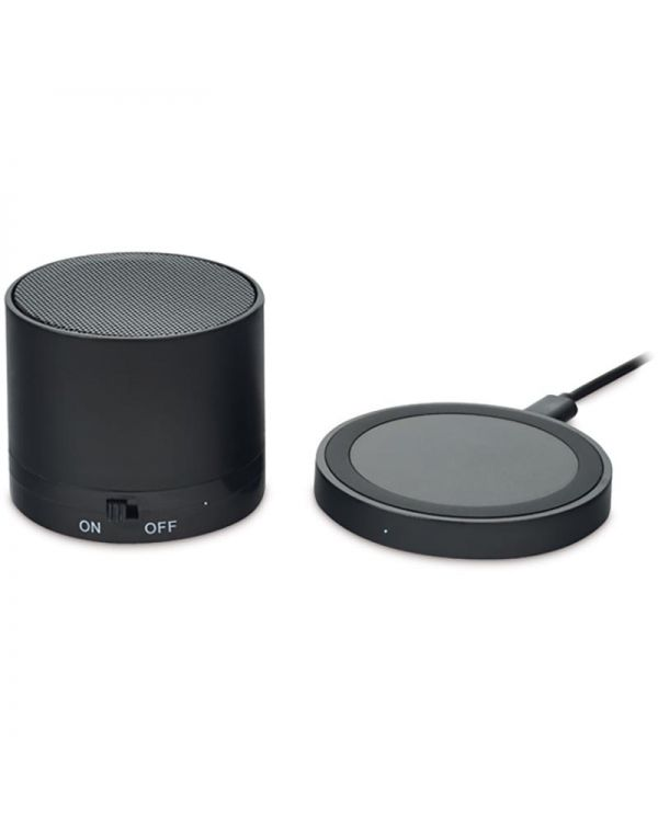 Round Less Wireless Chargeable Speaker