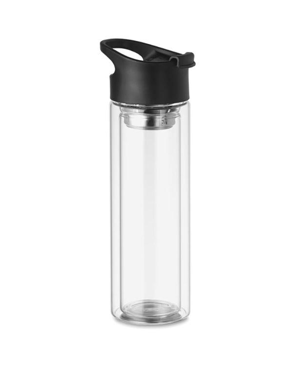 Bielo Double Wall Glass Bottle 380ml