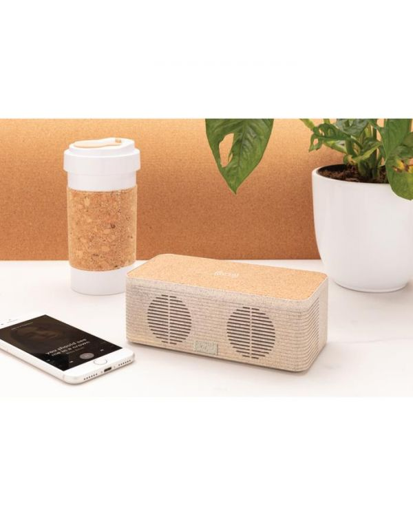 Wheatstraw Wireless Charging Speaker