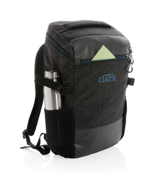 900D Easy Access 15.6 Inch Laptop Backpack PVC Free
