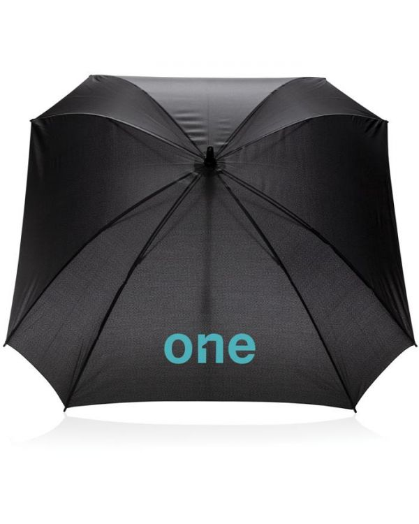 27 Inch Manual XL Logo Space Square Umbrella