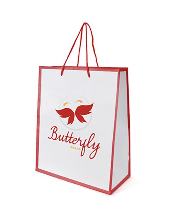 Newquay Medium Glossy Paper Bag