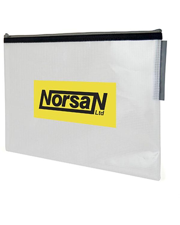 Crosshatch Document Wallet