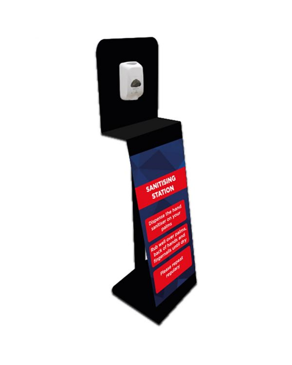 Indoor/Outdoor Sanitising Station With Manual Dispenser