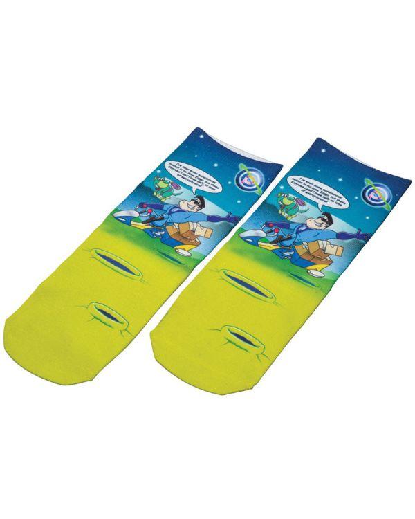 Full Colour Xpress Short Socks (Child Size)