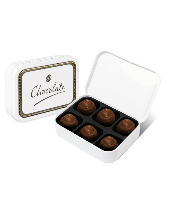 Sweet Tin White Salted Caramel Chocolates