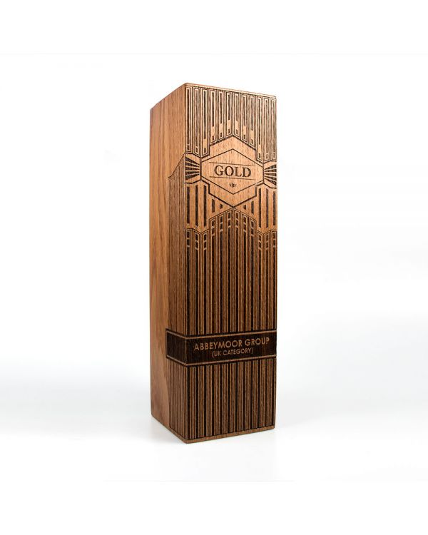 Large real wood column awards