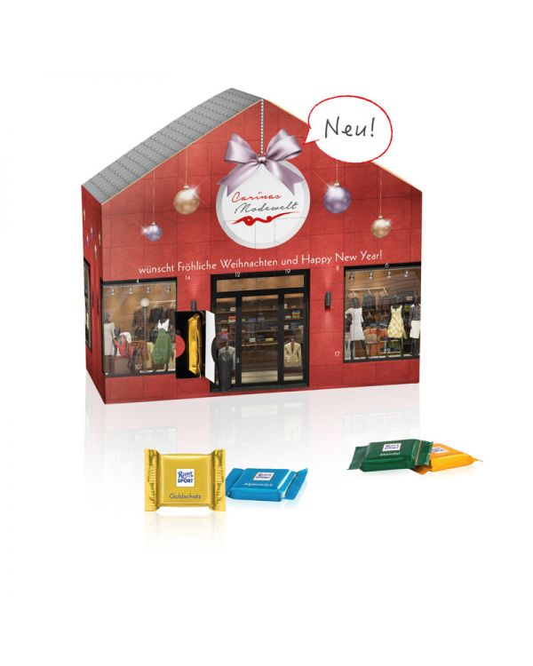 Advent calendar house Ritter SPORT