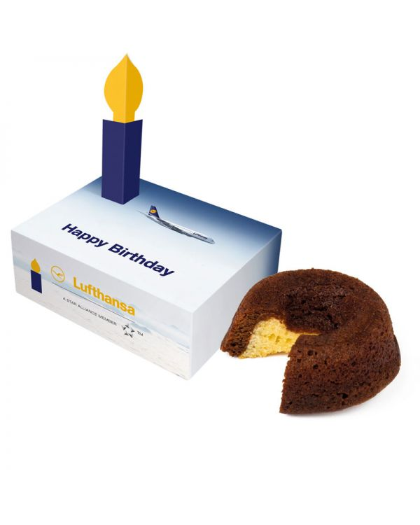 Mini Cake with Congratulations Box