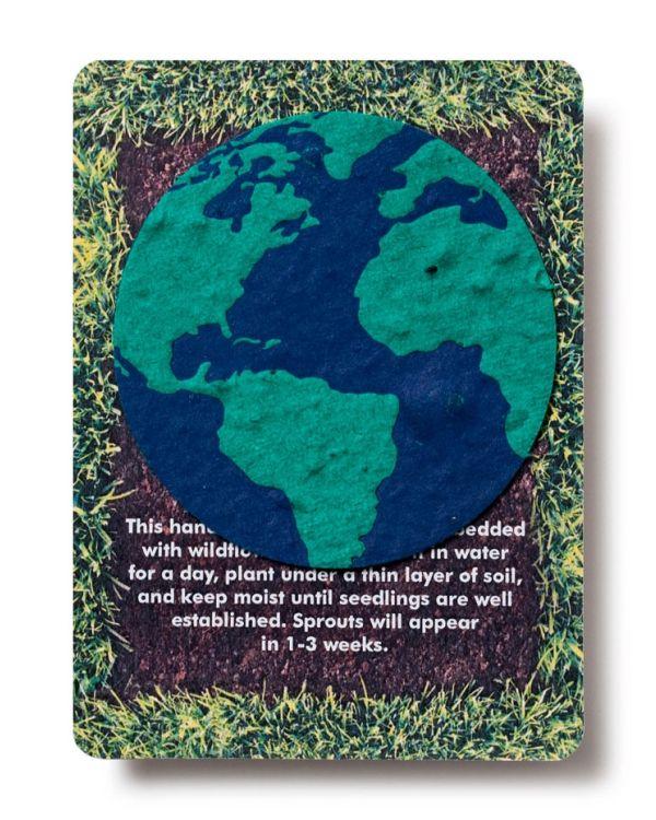 A6 Postcards with Plant It Paper Shape