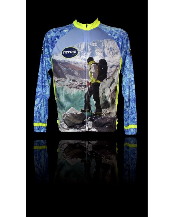 Cycle Jersey- Long Sleeved
