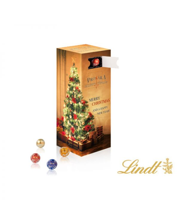 Lindt Mini Chocolate Balls Tower Advent Calendar