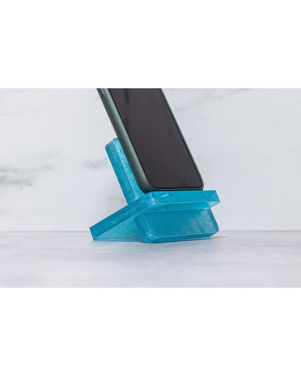Recycled face mask – Phone stand